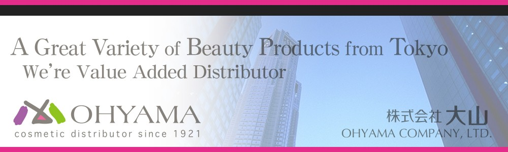 OHYAMA | cosmetic distributor since 1921