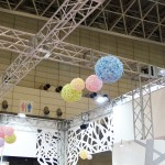 [W] OHYAMA Booth Truss & Flower Ball