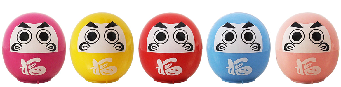 5 flavors of DARUMA LIPs