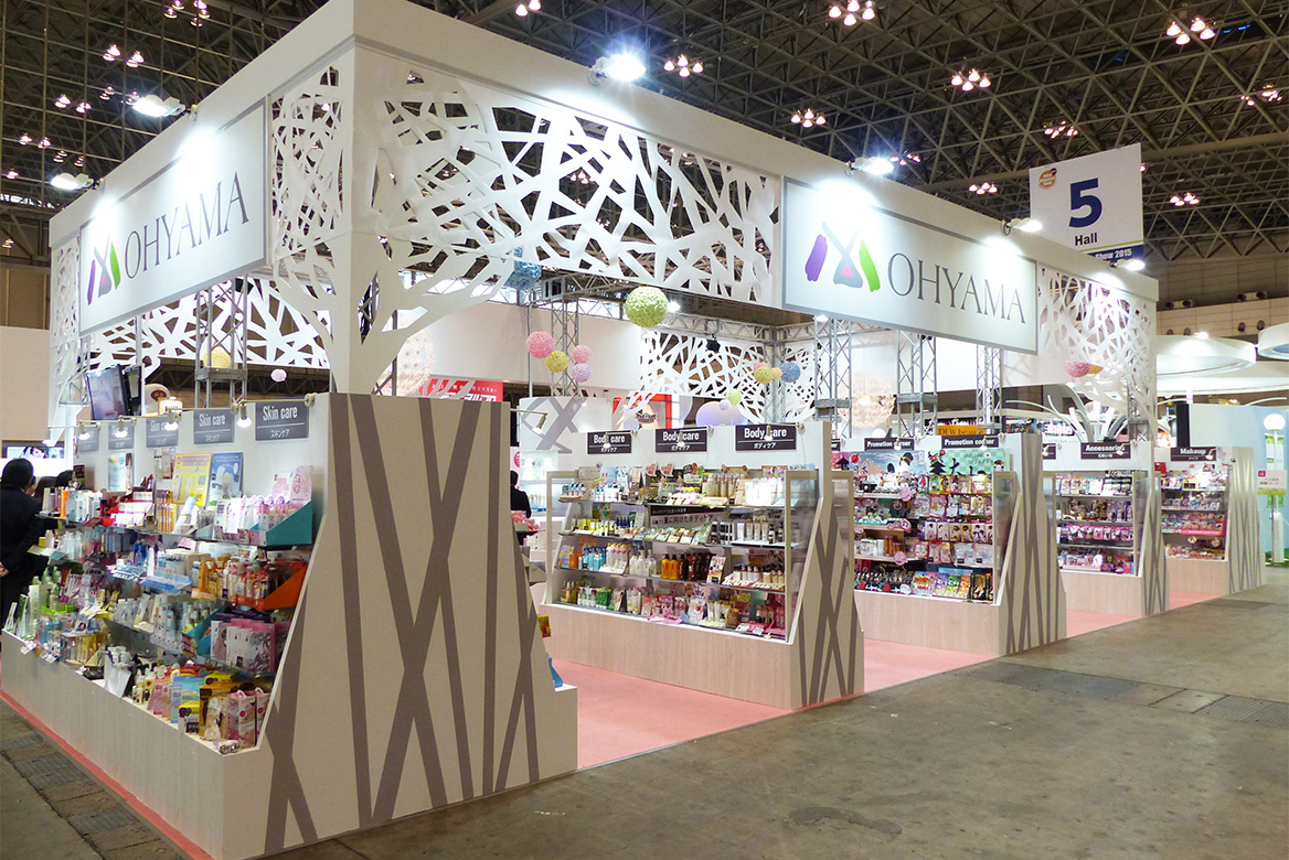 OHYAMA booth in 15th Anniversary JAPAN Drugstore show 2015